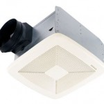 Broan Model QTXE110 110 CFM Ultra Silent Bath Fan Will Provide Complete Ventilation In Your Bathroom