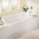 American Standard 2461.002.020 Cambridge 5-Feet Bathtub Allows You to Enjoy Full Body Soaks