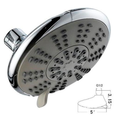 Ana Bath SS5450CCP 5-Function Showerhead Combo Shower System