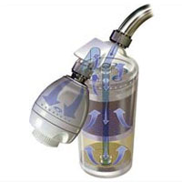 Aquasana AQ-4100 Deluxe Shower Water Filter System with Adjustable Showerhead
