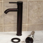 Bathroom Glass Vessel Vanity Sink Oil Rubbed Bronze Faucet for Your Copper Vessel Sink