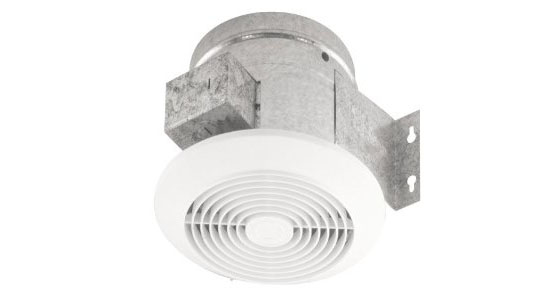 Broan CFM Ceiling Ventilation Fan (673-60) For A Comfortable Bathroom : Bathroom Fixtures Reviews