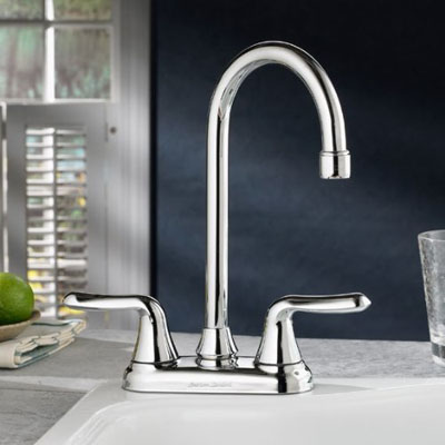 Colony Soft Double Handle Centerset Bar Sink Lavatory Faucet