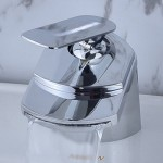 Contemporary Single Handle Waterfall Bathroom Vanity Faucet By LightInTheBox
