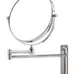 Danielle 10x Magnification Adjustable Round Wall Mount Mirror Completes Your Good Hygiene Need