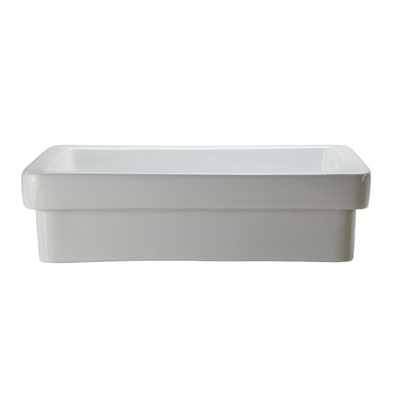 Decolav 1453-CWH Classically Redefined Semi-Recessed Lavatory Sink
