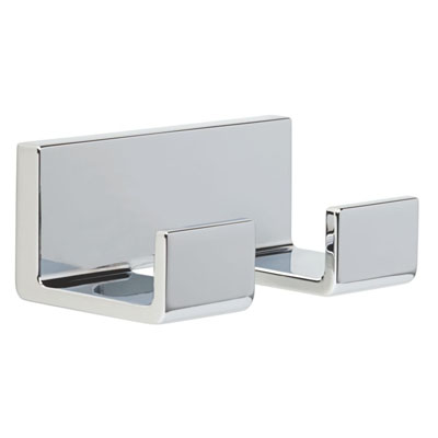 Delta Vero Bath Hardware Accessory Double Robe Hook Keeps Your - Delta bathroom hardware