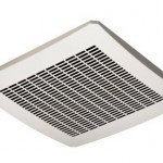 Delta Electronics VFB25AEH Breez 130 CFM Humidity Sensor Exhaust Fan Helps You Control The Humidity Level In Your Bathroom
