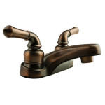 Classical RV Lavatory Faucet in Oil Rubbed Bronze (DF-PL700C-ORB) Is Perfect For Travel Trailers and Campers