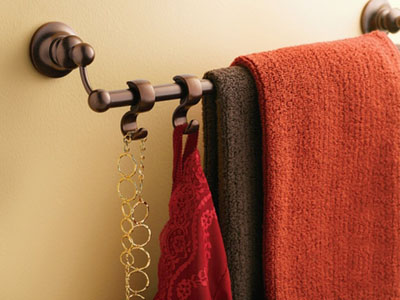 DN9203BN Towel Bar Hooks By Moen