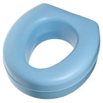 Duro-Med Deluxe Plastic 5 Toilet Seat Riser For Easy Raising Of Your Toilet