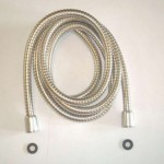This Extra Long Stainless Steel Handheld Shower Hose Is Very Flexible and Doesn't Kink