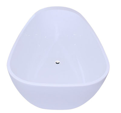 FIREBIRD Bathroom White Color FreeStand Acrylic Bathtub