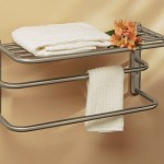 Stack Your Bath Towels In Style With Gatco 1541SN Towel Rack