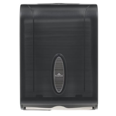 GP 56650/01 Translucent Smoke Combination C-Fold or Multifold Paper Towel Dispenser