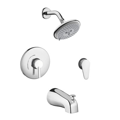 Hansgrohe 04465000 Focus S Shower System Combo