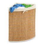 Modern Honey Can Do Wicker Corner Hamper Is Stylish and Environmentally Friendly