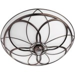 Hunter Orleans Bathroom Fan (82004) with Light In Beautiful Imperial Bronze Finish