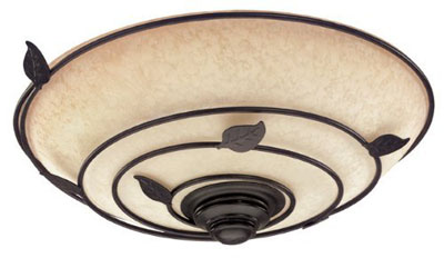 Hunter H82020 Organic Brittany Bronze Bathroom Fan with Light