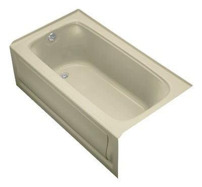 KOHLER Bancroft 5-Foot Bathtub (K-1150-LA-0)