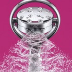 Elegant KOHLER K-17493-CP Flipside 01 Handshower In Polished Chrome Features Beautiful Flowing Lines Design