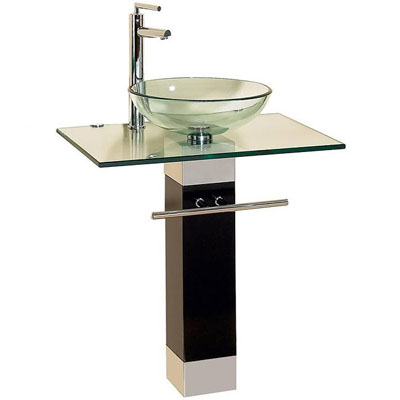 Kokols 23-inch Single Bathroom Vanity Set