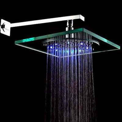 LightInTheBox 8 Inch Wall Mount Square Rainfall Showerhead