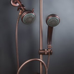 Mariner 2 Combination Shower Head System In Oil Rubbed Bronze Finish