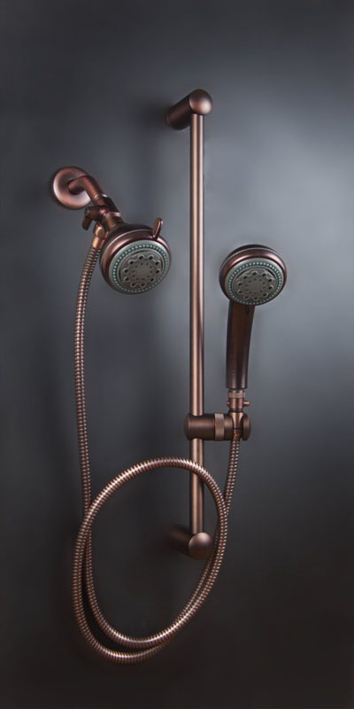 Mariner 2 Combination Shower Head System In Oil Rubbed Bronze ...