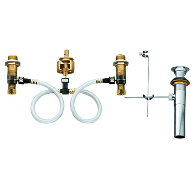 Moen 9000 M-PACT Widespread Lavatory Rough-In Valve with Drain Assembly