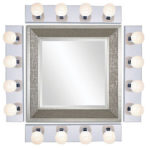 Create Hollywood Style Vanity with Nuvo Four Light Vanity Strip