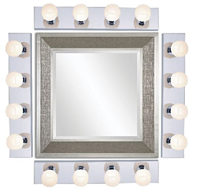 Nuvo Four Light Vanity Strip - Bathroom Light - Mirror Light