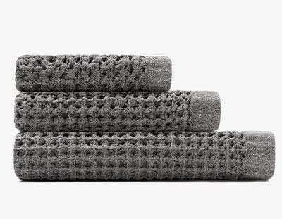 Onsen Towel Set Grey/White