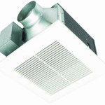 Panasonic FV-11VQ5 WhisperCeiling 110 CFM Ceiling Mounted Fan Provides Great Ventilation for Your Bathroom