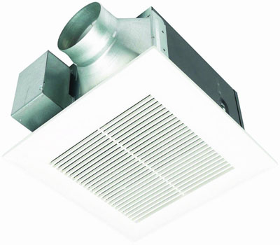 Panasonic FV-11VQ5 WhisperCeiling 110 CFM Ceiling Mounted Fan