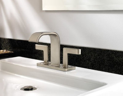 Bathroom Faucets 4 Inch Centerset : ... Inch Centerset Lavatory Faucet For Style And Comfort Bathroom