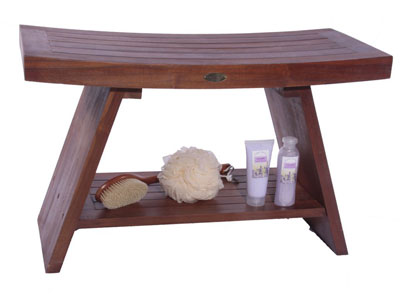 Serenity Asia Style Teak Shower Bench