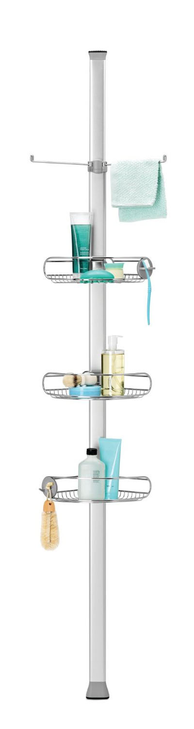 Simple Human Adjustable Tension Shower Caddy