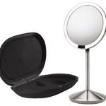 Simplehuman Mini Sensor Mirror Lights Up as Your Face Approaches