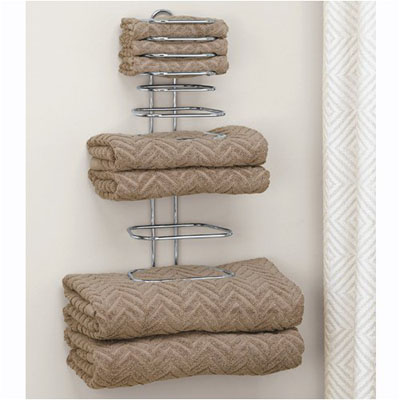 Taymor Hotel Chrome Four Guest Towel Holders