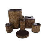 Tommy Bahama Retreat Wicker Bath Accessories Creates A Spa Ambiance In Your Bathroom