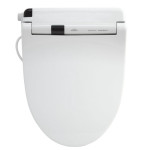 TOTO SW554-01 Washlet S300 Elongated Front Toilet Seat Provides A Spa Experience