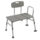 Drive Medical Plastic Tub Transfer Bench Features Adjustable Backrest and Legs to Fit Most Bathtubs