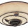 Hunter H82020 Organic Brittany Bronze Bathroom Fan with Light By Hunter Fans