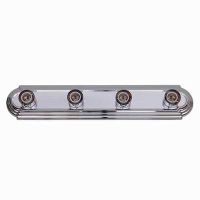 Home Decor 4504-8 Chrome-Finish Bathroom Vanity Fixture