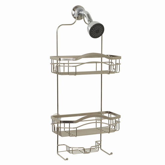"Zenith Products ""Kemp"" No Rust Shower Caddy"