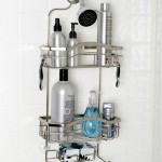 "Keep Your Bathroom Essentials Safe And In Order With Your Zenith Products ""Kemp"" No Rust Shower Caddy"